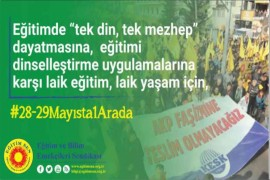 'LAİKLİK OLMAZSA OLMAZIMIZDIR!'