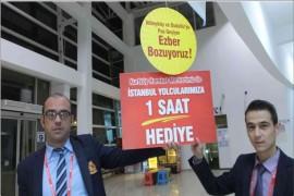 BURHANİYE'DE OTOBÜSLERDE KIŞ REKABETİ